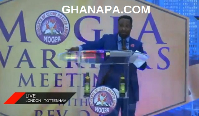 MOGPA's Rev. OB Storms London-Tottenham UK, threaten to churches [Live TV and Video]