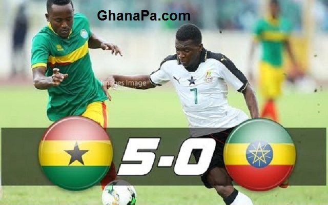 Ghana vs Ethiopia [5:0] All Goals