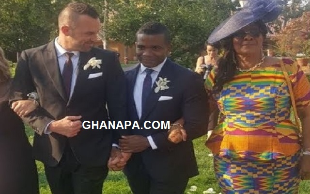Former school prefect of Achimota School marries gay lover in America [Video]