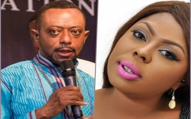 Rev. Isaac Owusu Bempah (Left) And Afia Schwarzenegger (Right)