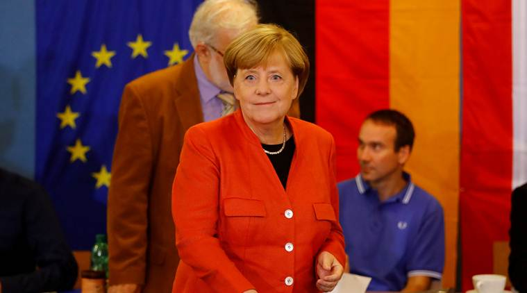 Germany election: Chancellor Angela Merkel wins fourth term
