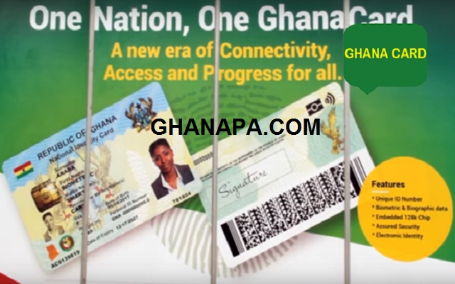 Republic of Ghana National Identity Card