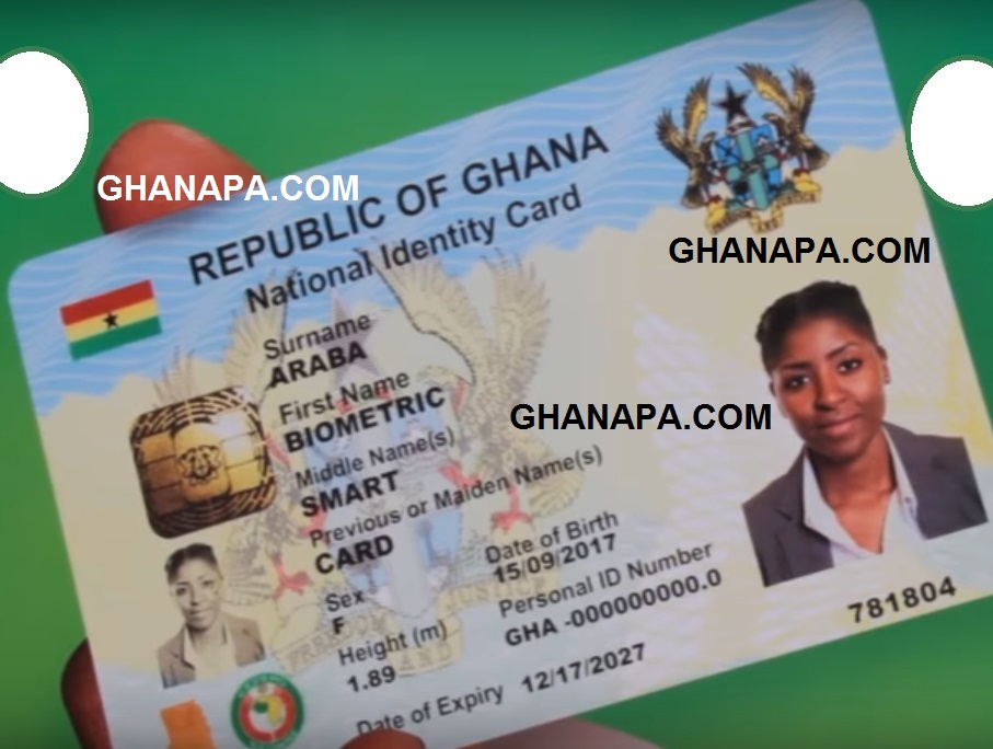 Republic of Ghana National Identification Card – Prof Ken Attafuah [Video]