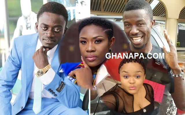 The scrimmage of Kumawood stars (Vivian Jill, Emelia Brobbey & Kwaku Manu) EXPOSED Kwadwo Nkansah LilWin and his 'juju' priest 'Top Kay' [Watch All The Videos]