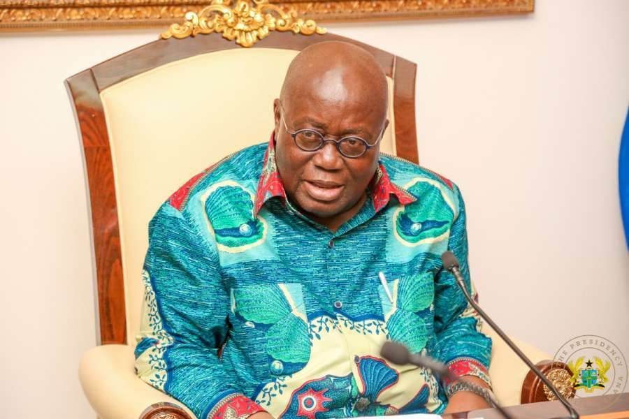 Government will strengthen the pillars of security - President Akufo-Addo