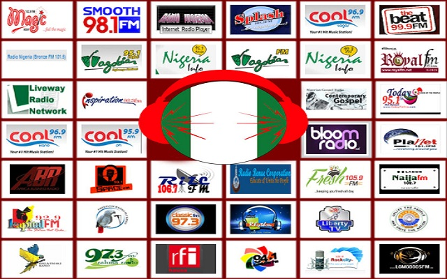 Top 15 Nigerian Radio Stations Based On Twitter Followers and All Nigeria Radio Stations [Listen]