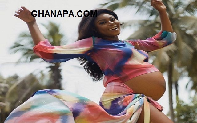 Yvonne Nelson shares pregnancy photos