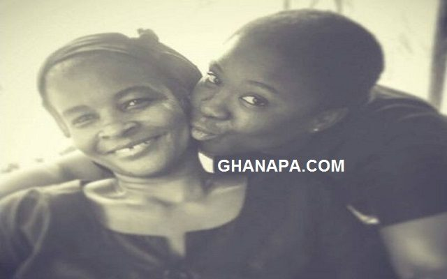 Actress Maame Serwaa's mum passed away