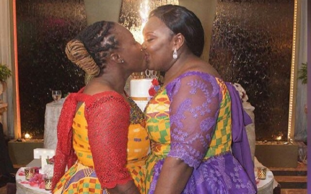 Two Ghanaian Lesbians Got Married in Holland