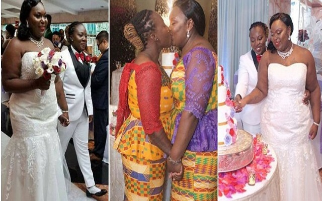 Two Ghanaian Lesbians Got Married in Holland [Watch More Photos]