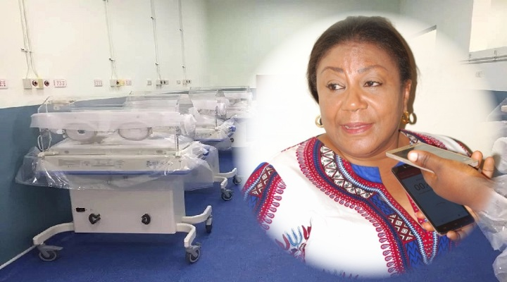 Ghana's First Lady Rebecca Akufo-Addo, Ghanaians and Multimedia Groups initiative of new Komfo Anokye Teaching Hospital (KATH) Maternity Is Completed Within 5 Months [Watch Full Video]