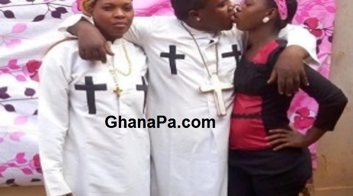 Prophet kisses wife, housemaid in public