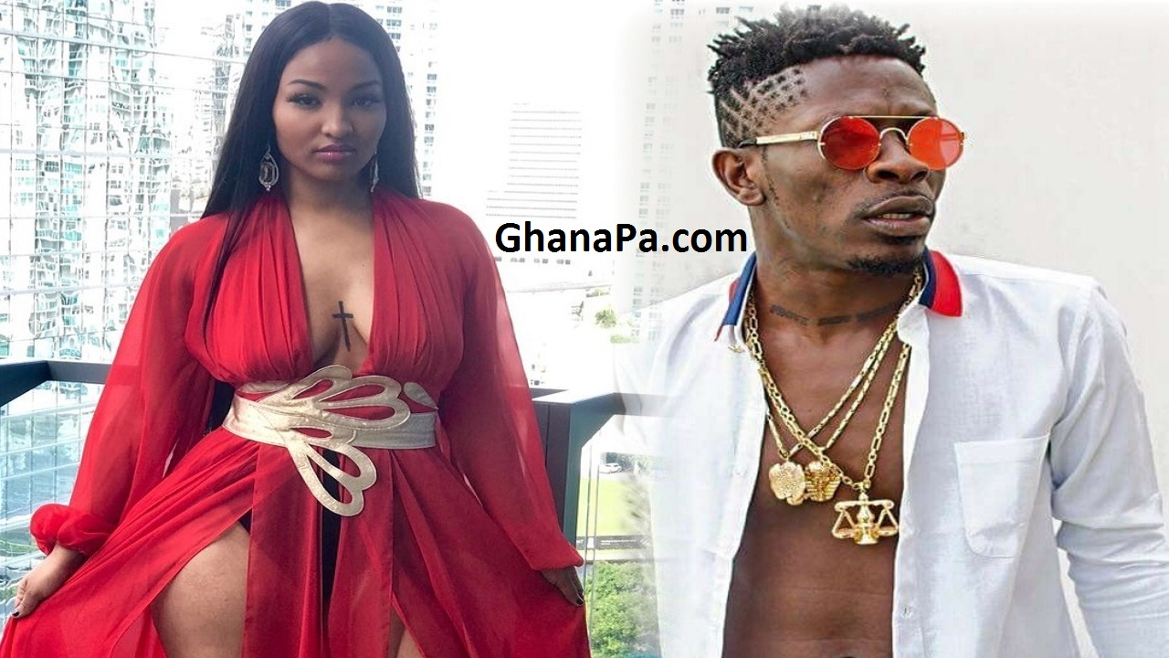 Jamaican Female Artist Shenseea Makes African Connection With Shatta Wale