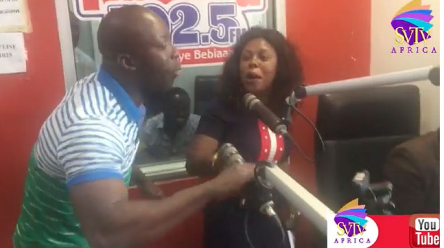 Police pick up Afia Schwarzenegger after brawl with Kumchacha [Watch Full Video]