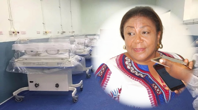 First Lady Rebecca Akufo-Addo, Ghanaians and Multimedia Groups initiative of new Komfo Anokye Teaching Hospital (KATH) Maternity Is Completed Within 5 Months