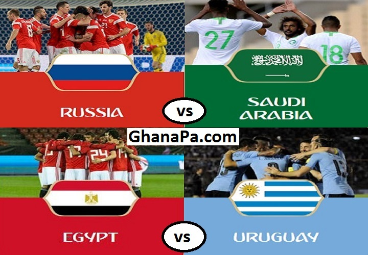 FIFA World Cup Russia 2018 Group A Matches