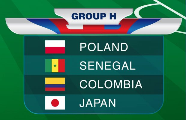 Group H: Poland, Senegal, Columbia, Japan