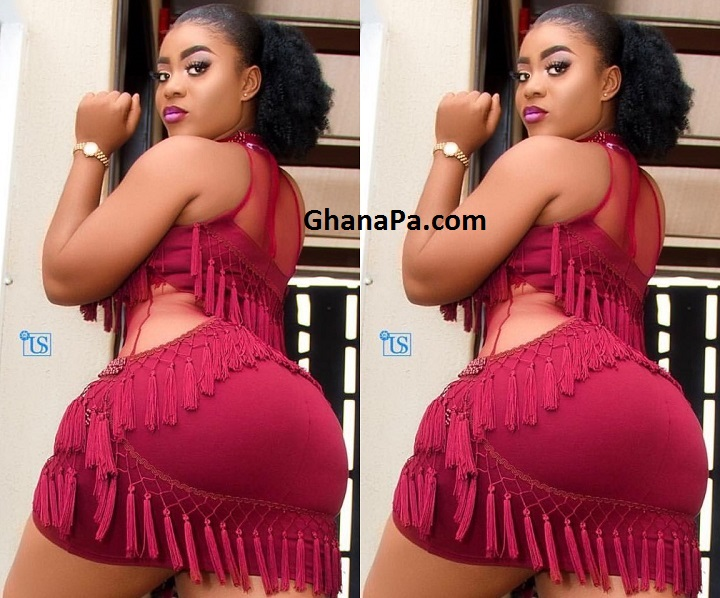 Yaw Dabo's Tundra girlfriend Vivian Okyere twerking takes the internet by storm