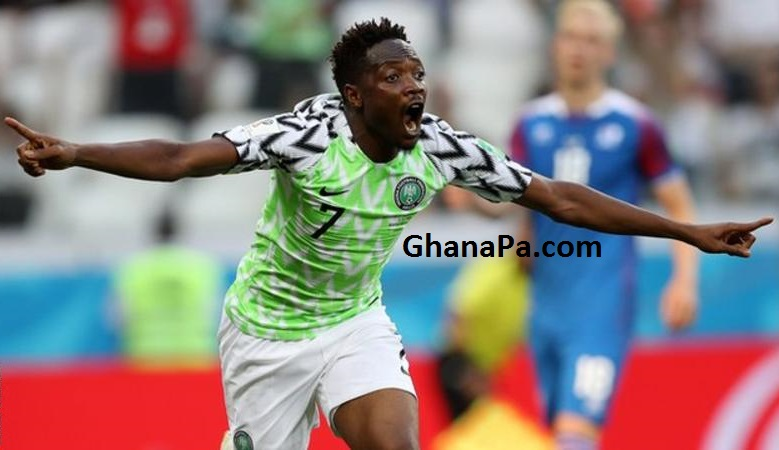 Ahmed Musa fires Nigeria into lead