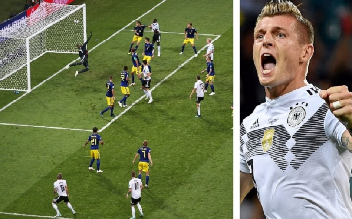 Germany vs Sweden [2:1] - 2018 FIFA World Cup, Toni Kroos keep Germany's World Cup hopes alive.