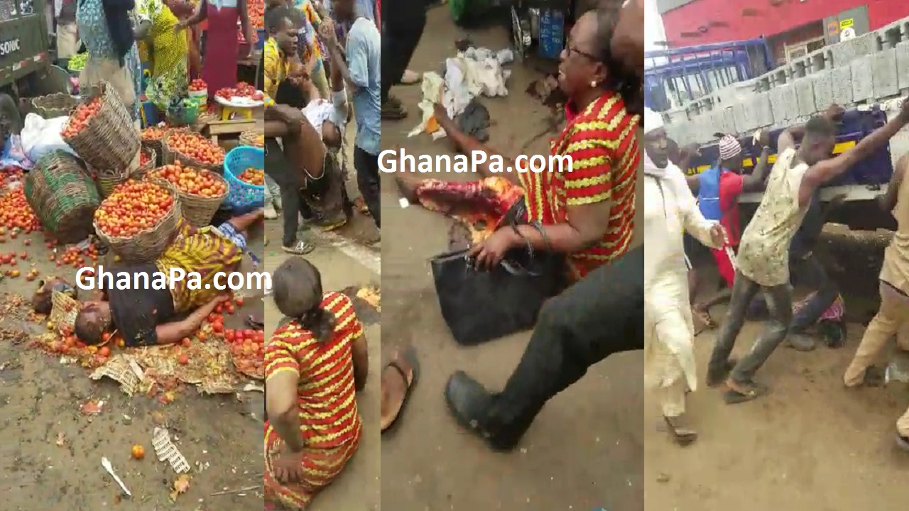KIA track failed break at Ashaiman traffic light and runs over Market women [Video]