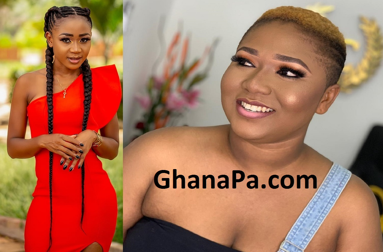 Actress Xandy Kamel Blasts And Insu!ts Akuapem Poloo - 'You Slept With A Married Man, So What?'