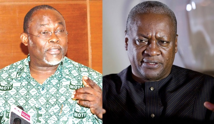 Problem For Ex-President John Mahama, As Dr. Spio-Garbrah Tag Himself