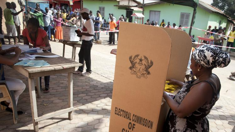 Ghana referendum, Creation of new regions, Voting ends with many YES