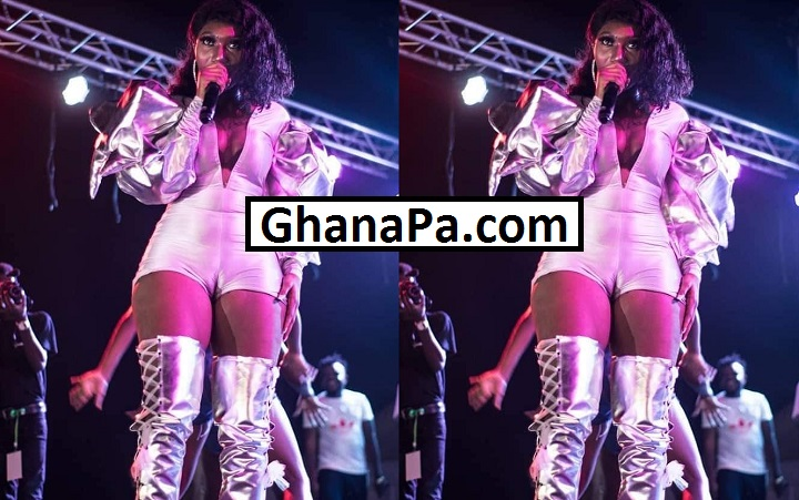 Wendy Shay shows Her TONGA on stage [Watch Full Photos]