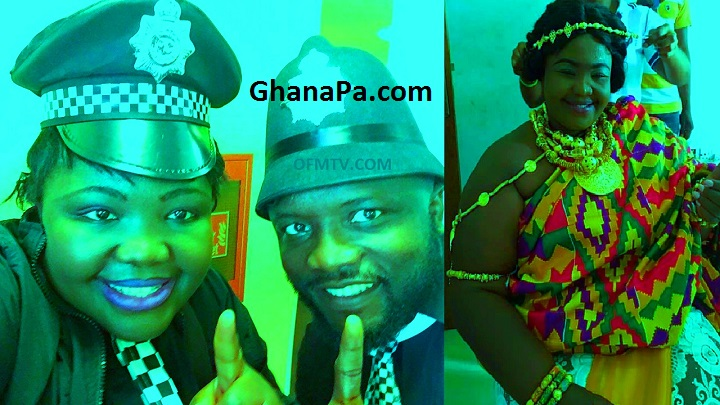 Kamal Mohammad's (Young Cissey) Broken Heart Syndrome, Because of Obaa Tiwaa Is Married To a Great King [Watch Video]