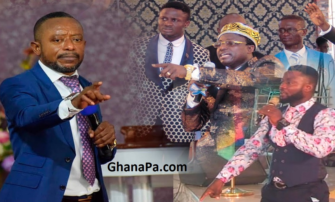 Prophet Isaac Owusu Bempah is spiritually married to his mother - Opambour's Junior Pastors, Stop bleaching [Watch Full Video]