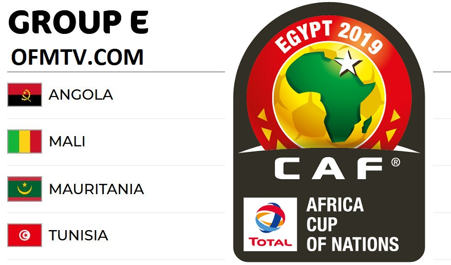 AFCON 2019 Egypt Group E - Matches, Top Teams, Kick-Off Times, Standings, Fixtures, Venues And Results