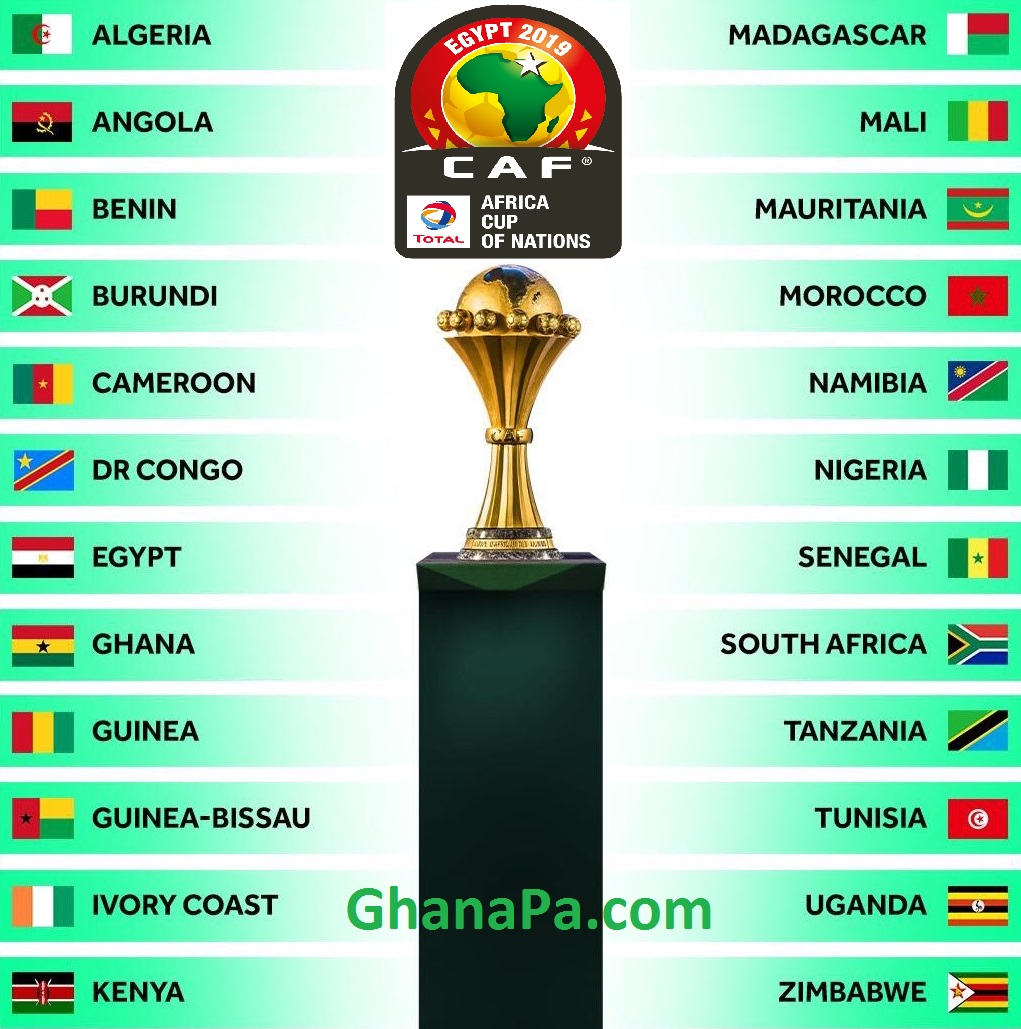 AFCON 2019 Teams, Fixtures, Venues, Standings, Referees, Host Country, Matches Kick-Off Times, Videos, Photos, News, Overview And Profile