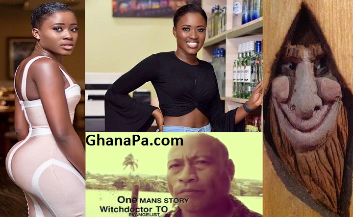 Ghanaian Actress Fella Makafui Used Demonic Name For Fame By Ex-Witch doctor's Anatomization [Watch Full Video]