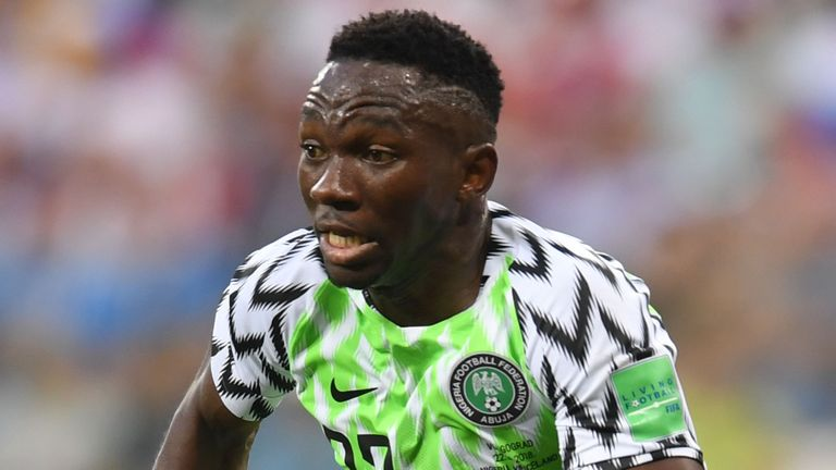 Africa Cup of Nations 2019: Nigeria vs Guinea [1-0 ] - Kenneth Omeruo header seals qualification