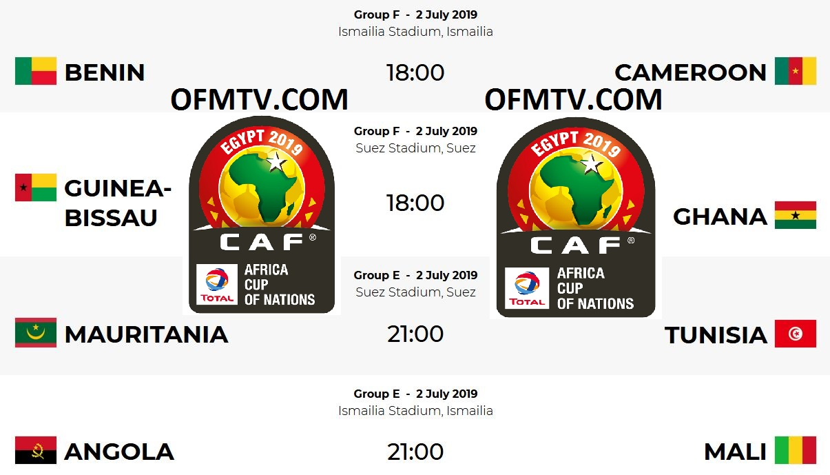 AFCON 2019 Egypt Top Teams, Group E & Group F Matches, Fixtures, Kick-Off Times, Standings, Where To Watch AFCON 2019 Live TV, Results etc.