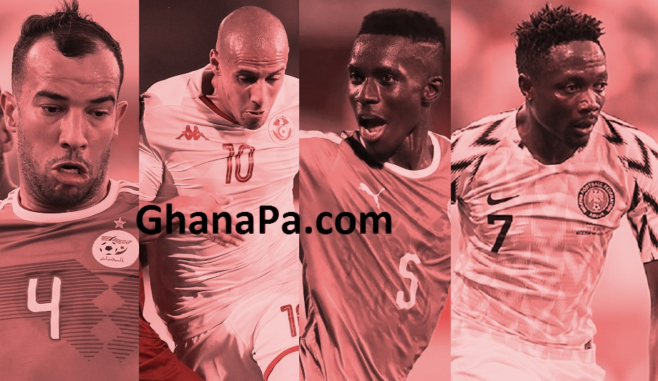 AFCON 2019 Semi-finals Schedule, head to head matches between the North Africans and the West Africans, Kick-off times, Venues, Results And Where To Watch