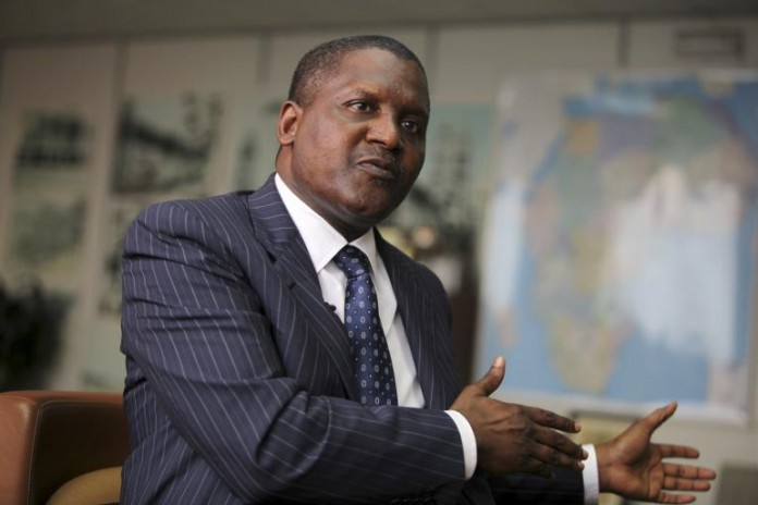 Aliko Dangote is the richest man in Africa for the eighth year running