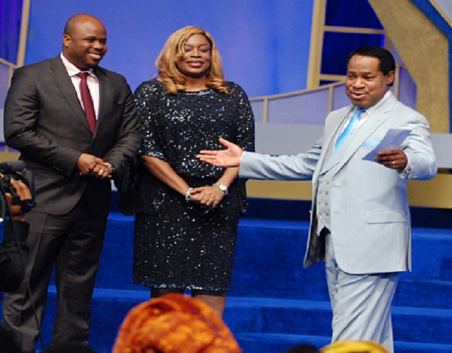 Pastor Chris Oyakhilome, Sinach And her husband, Pastor Joe Egbu