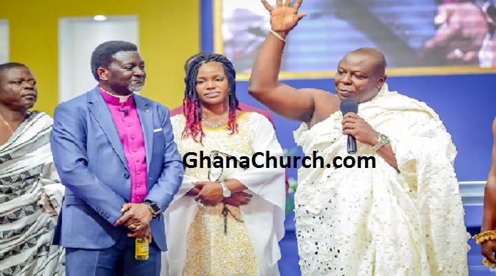 Bishop Charles Agyinasare stopped the rain - Togbuiga Amenya Fiti V testifies [Video]