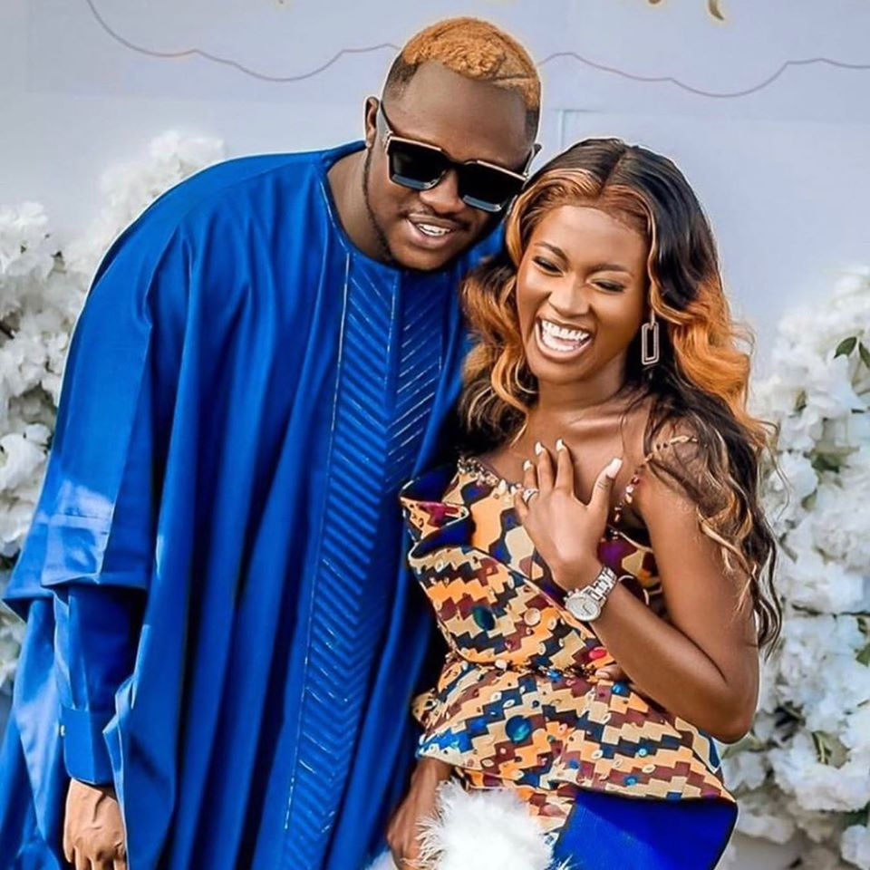 Medikal and Fella Makafui's Traditionally Marriage Videos & Photos