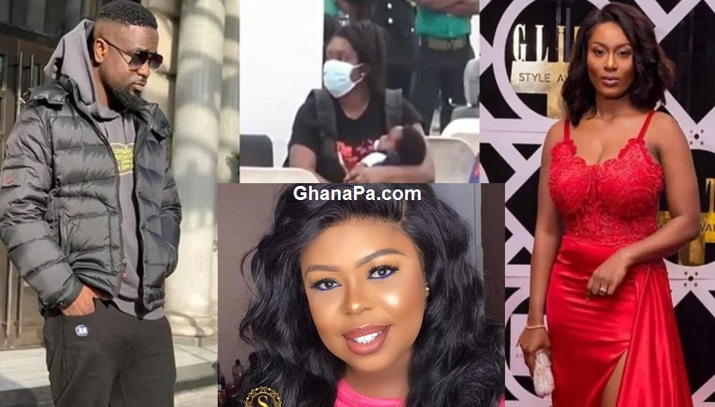 Let Ghanaians know if you returned with a stolen baby – Afia Schwarzenegger to Sarkodie