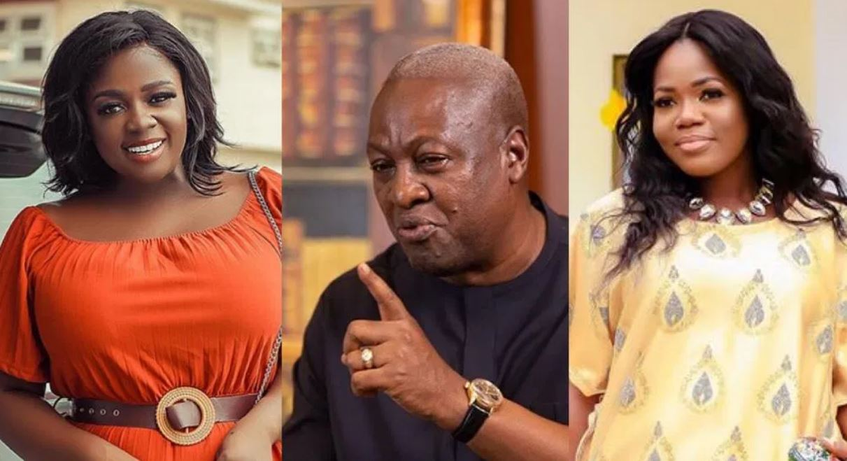 Alleged conversation between Tracey Boakye and MzBel about Former President Mahama leaks [Video]
